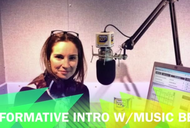 create an audio intro for your podcast, dj set, live event