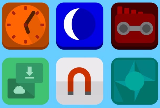 create an attractive app icon
