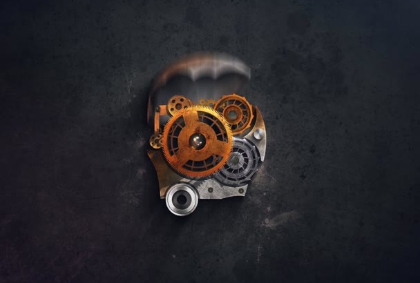 create an amazing steampunk video intro