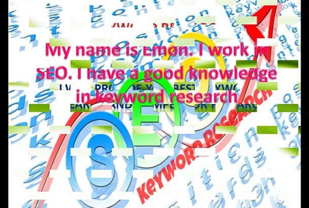 provide you best keyword research and competitor research