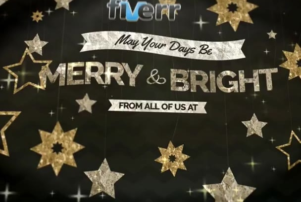create this stunning Christmas Intro