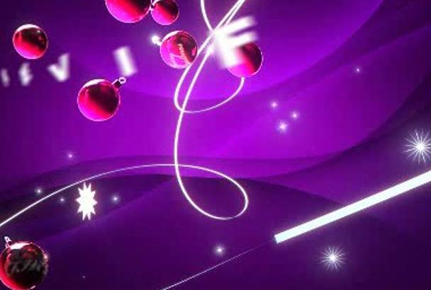 make a amazing Christmas Xmas video intro
