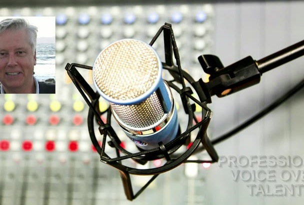 do your voice over today
