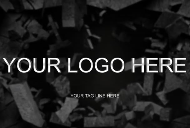 do breakwall intro with your logo