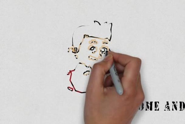create an Amazing WHITEBOARD Video Animation