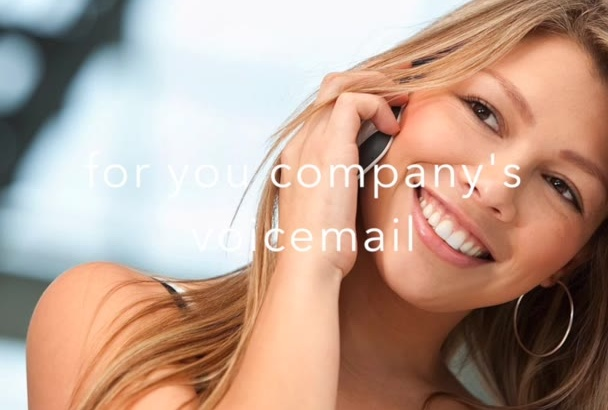 record a professional voicemail greeting today