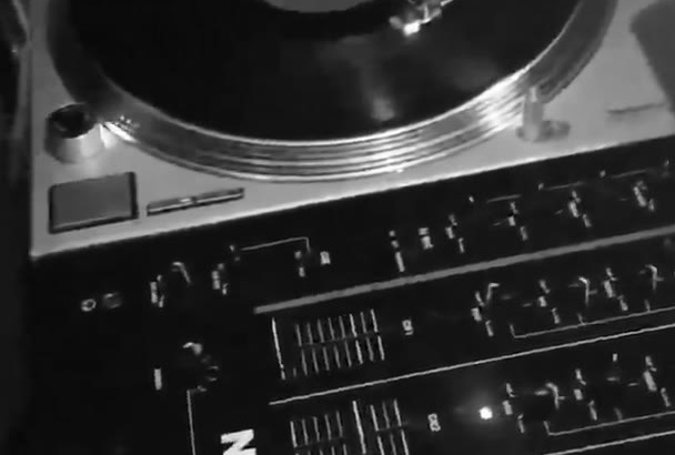 record authentic vinyl scratching to your audio