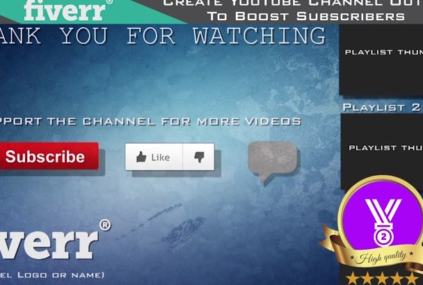 do YouTube channel Outro to boost your Subscribers
