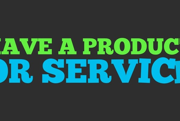 create a product promo kinetic typography