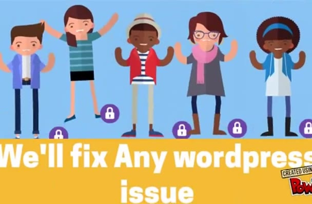 fix any kind of WordPress issue and develop your theme