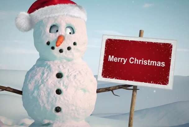 create This Merry Christmas Funny Video For 3 Hours