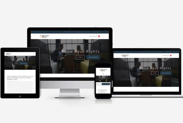 design a professional website for your business