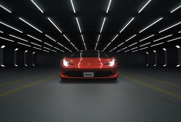 do car logo opener animation