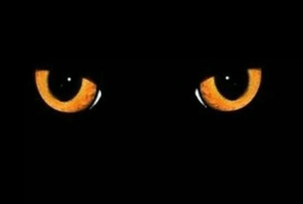 make You Best Halloween eyes Intro video