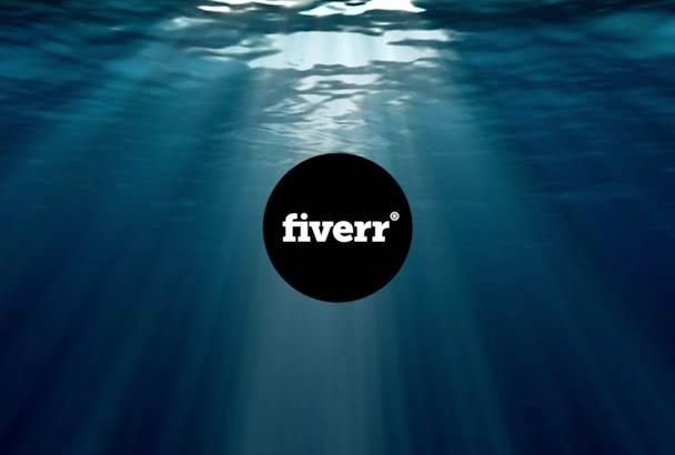 do video intro Underwater