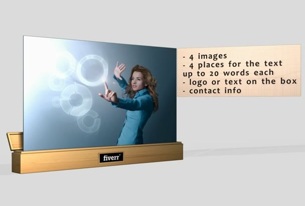 create pro looking multi purpose video commercial
