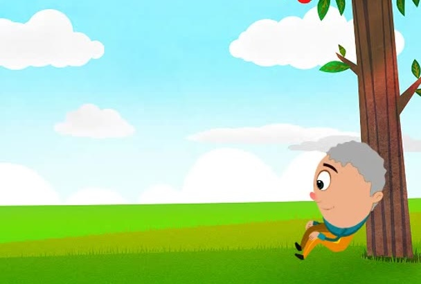 create 2d animation for you