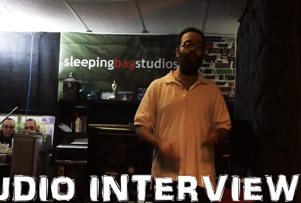 give you an audio interview