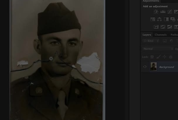 professionaly restore and colorize your damaged photos