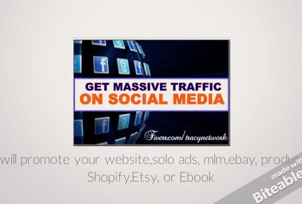 promote your website,solo ads, mlm,ebay, product, Shopify,Etsy, or Ebook
