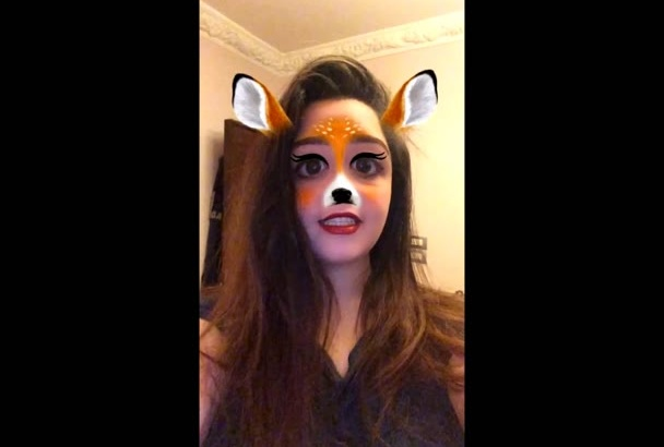 record video with snapchat filter