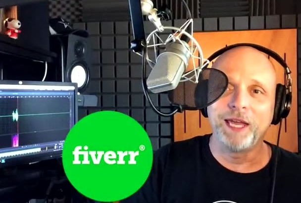 record an American English male voice over TODAY
