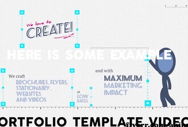 create any type of advertisement video from videohive