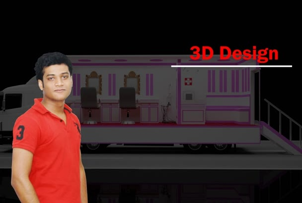 branding Your Car and Van,Any Vehicle on 3D
