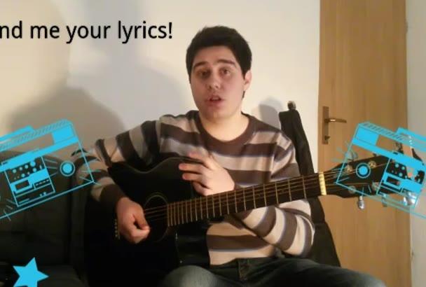 sing and make jingle on your lyrics