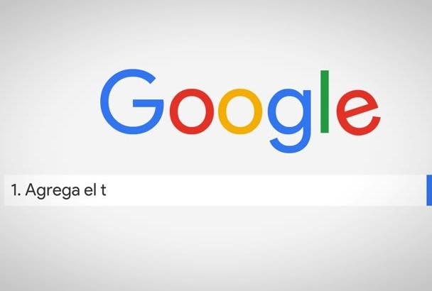 crear un comercial de busqueda en google