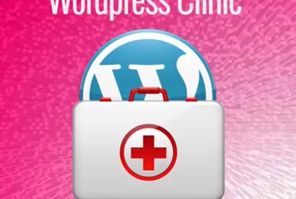 fix any wordpress problem