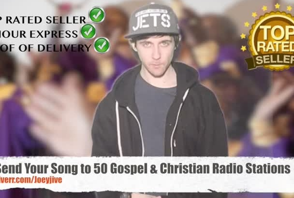 send Your Song to 50 Gospel Christian Radio Stations