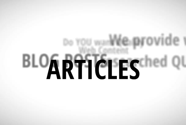write a 500 word SEO article or blog post on any topic in 24 hours