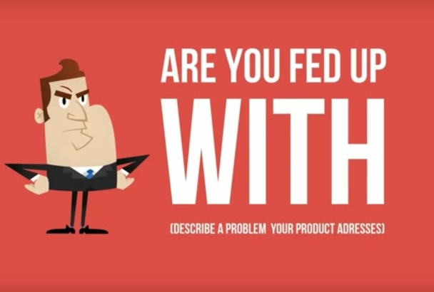 create a 30 second animated marketing video