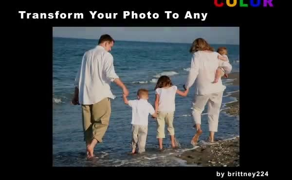 transform your photo into any color