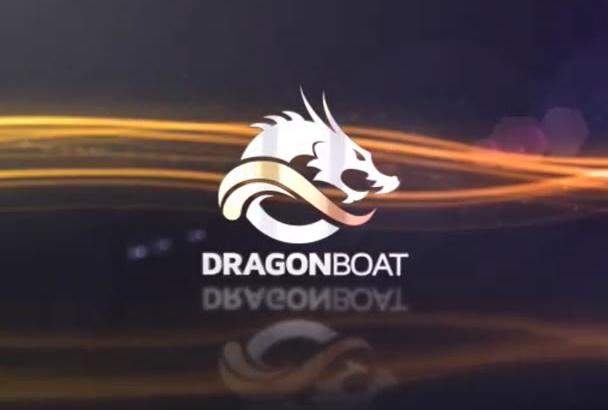 create 3D Streak Logo Intro Video