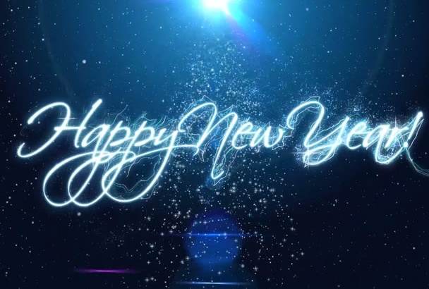 in just1day make magic New Year video