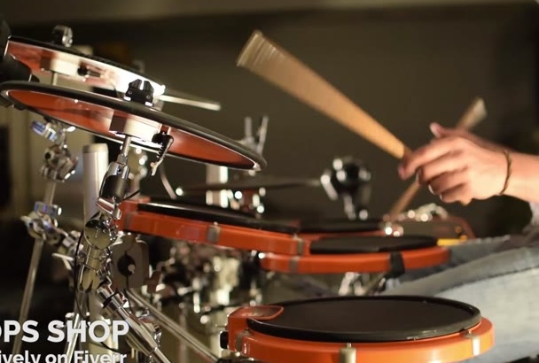 record live drums in multitrack for your songs
