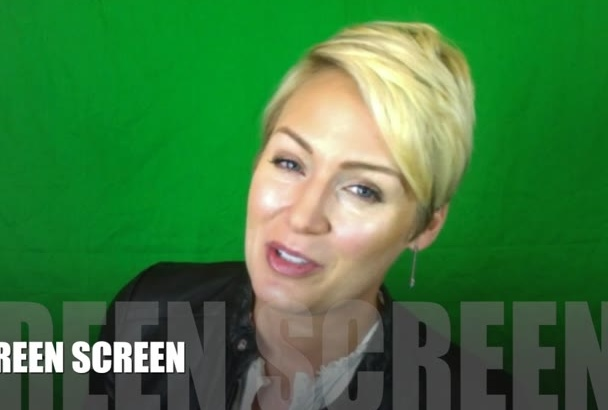 film a green screen video