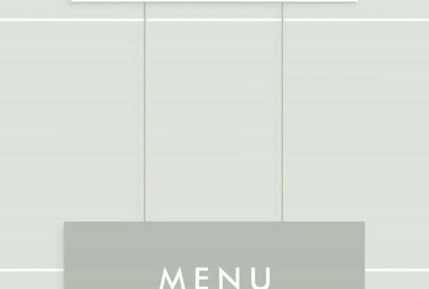make Modern Restaurant Food Menu Presentation Video