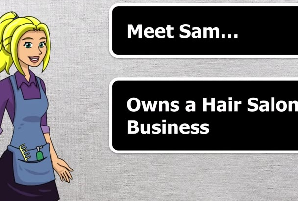 create Animated explainer video for business or website
