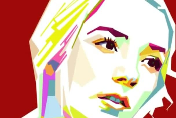 make your photo on popart WPAP style