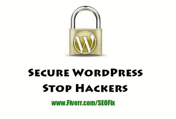secure wordpress sites to stop hackers