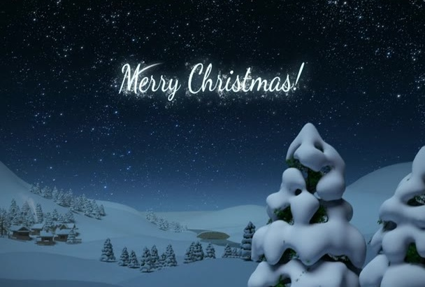 do this amazing Christmas greeting card