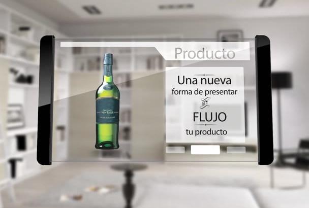 tablet transparente moderno minimalista e impactante