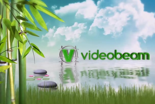 create this awesome NATURE logo reveal video