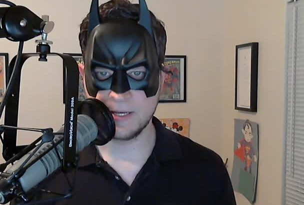 say anything in a Batman or Bane voice
