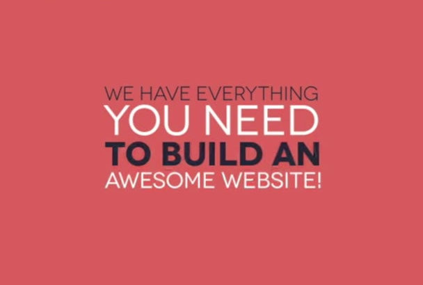 redesign, responsive, optimize, fixed error, Create full any website