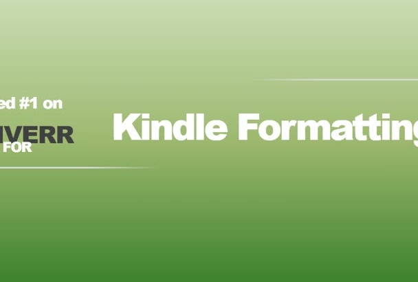 do Kindle formatting conversion from any file formats with Clickable TOC