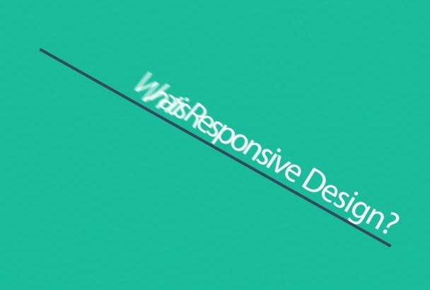 design and develop a eye catching responsive web site
